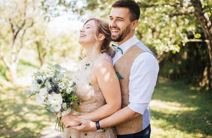 Verschiedene Hochzeitsstile geübt!